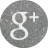 google plus silver round social media icon